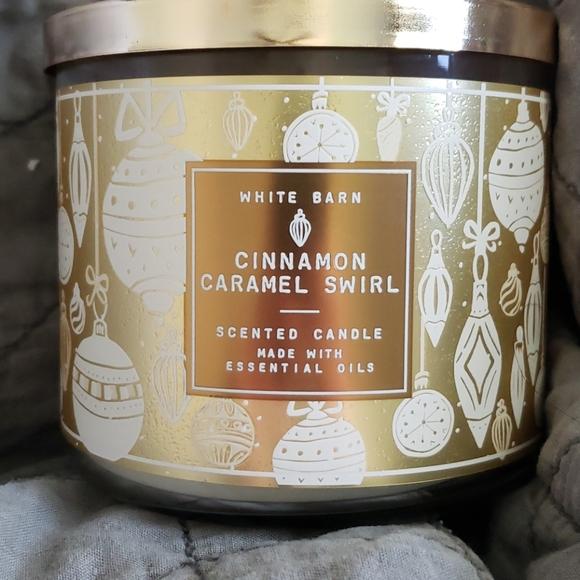 Cinnamon Caramel Swirl Candle